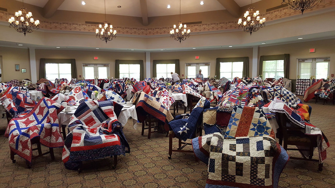Miracle Quilt Event At Independence Village Of Oxford